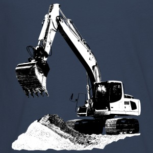 Excavator Long Sleeve Shirts - Teenagers' Premium Longsleeve Shirt