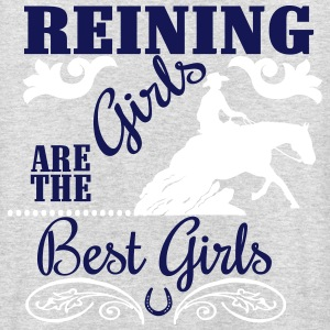 Reining Girls are the best Girls Felpe - Felpa con cappuccio unisex