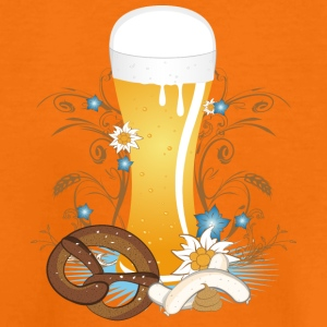 Wheat beer with snack Shirts - Teenage Premium T-Shirt