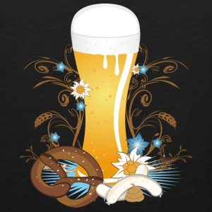 Wheat beer with snack Tank Tops - Men's Premium Tank Top