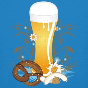 Wheat beer with snack T-Shirts - Men's Organic T-shirt