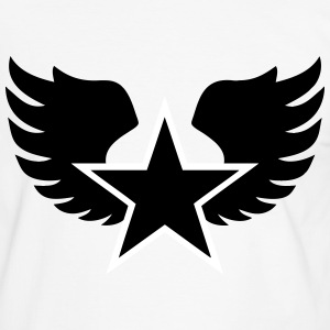 Star and wings  - T-shirt contraste Homme