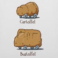 Motiv ~ Cartoffel Tragetasche