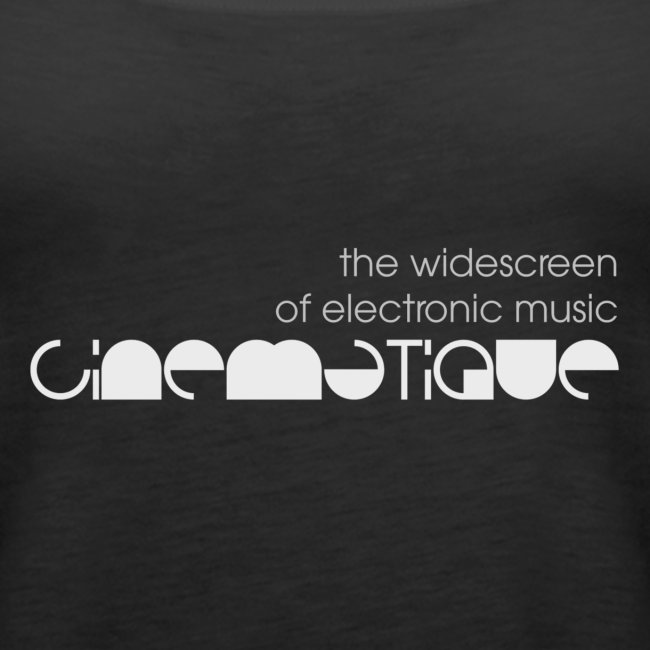 Cinematique 'Widescreen' Tank Top Female (Black)