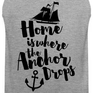Where The Anchor Drops  Tank Tops - Männer Premium Tank Top