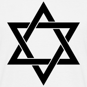 Star of David Judaism Israel T-Shirts - Men's T-Shirt