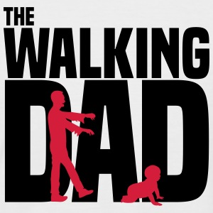 WALKING DAD T-Shirts - Männer Baseball-T-Shirt