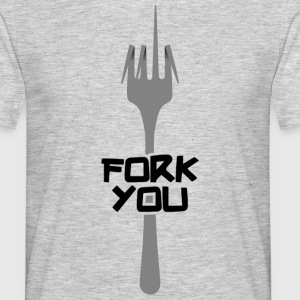 Fork you Tee shirts - T-shirt Homme