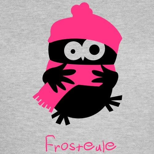Eine Eule // Frosteule