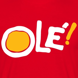 Ole! (red) T-Shirts - Men's T-Shirt