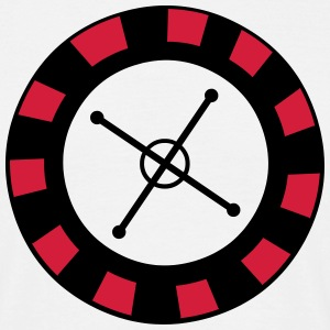 Roulette Wheel T-Shirts - Men's T-Shirt