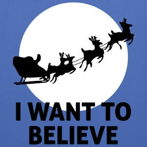 I Want To Believe In Santa Claus Tasker & rygsække - Mulepose