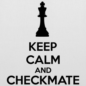 Keep Calm And Checkmate   Tasker & rygsække - Mulepose
