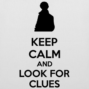 Keep Calm And Look For Clues Torby i plecaki - Torba materiałowa