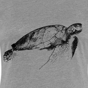 turtle T-Shirts - Frauen Premium T-Shirt