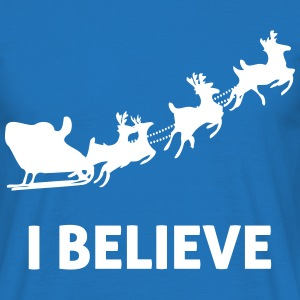 I Believe In Santa Claus T-Shirts - Men's T-Shirt