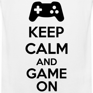 Keep Calm And Game On Débardeurs - Débardeur Premium Homme
