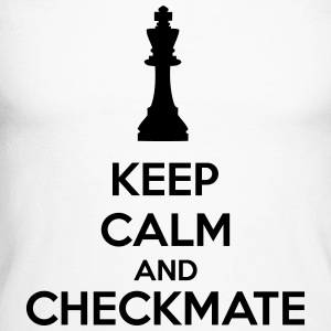 Keep Calm And Checkmate   Manches longues - T-shirt baseball manches longues Homme