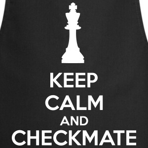 Keep Calm And Checkmate   Tabliers - Tablier de cuisine