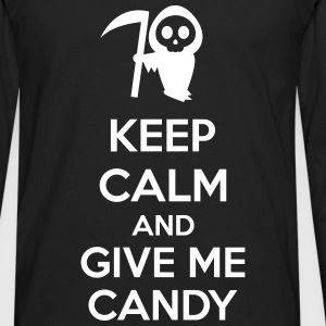 Keep Calm And Give Me Candy Long sleeve shirts - Men's Premium Longsleeve Shirt