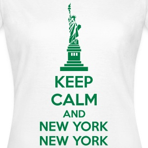 Keep Calm And New York New York T-shirts - Vrouwen T-shirt