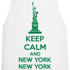 Keep Calm And New York New York Delantales - Delantal de cocina