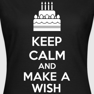Keep Calm And Make A Wish T-Shirts - Women's T-Shirt
