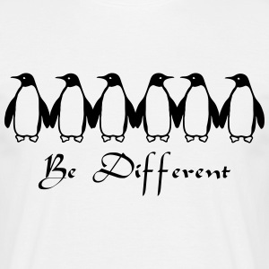 Be Different Magliette - Maglietta da uomo