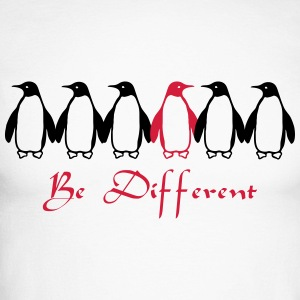 Be Different Long sleeve shirts - Men's Long Sleeve Baseball T-Shirt