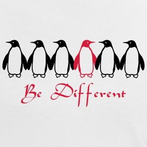 Be Different T-shirts - Vrouwen contrastshirt