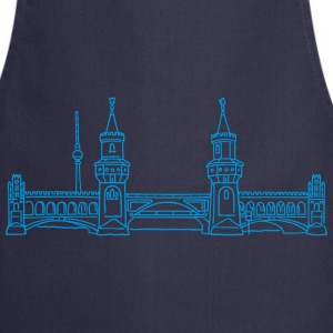 Oberbaum Bridge in Berlin  Aprons - Cooking Apron