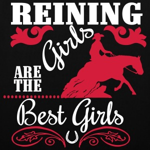 Reining Girls are the best Girls Sacs et sacs à dos - Tote Bag