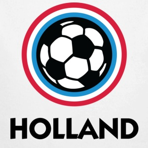 Football Crest Holland Babybody - Økologisk langermet baby-body