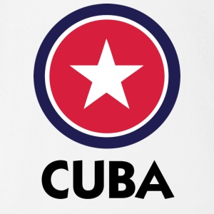A star for Cuba Shirts - Organic Short-sleeved Baby Bodysuit