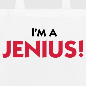 I m a genius! Bags & Backpacks - EarthPositive Tote Bag