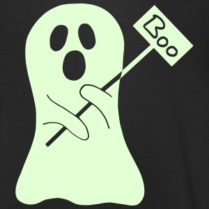 Halloween Ghost Tee shirts - T-shirt Homme col V