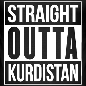 Straight outta kurdistan - Männer Slim Fit T-Shirt