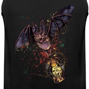 Scary Halloween bat - Men's Premium Tank Top
