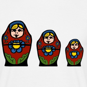 matryoshka doll - Men's T-Shirt