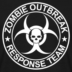 Zombie Outbreak Response Team - Men's T-Shirt