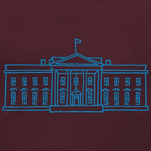 The White House in Washington T-Shirts - Women's Scoop Neck T-Shirt