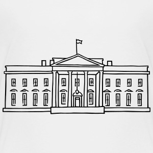 The White House in Washington Shirts - Kids' Premium T-Shirt
