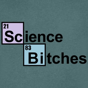 Science Bitches T-Shirts - Men's V-Neck T-Shirt