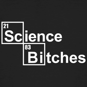 Science Bitches Camisetas - Camiseta ecológica hombre