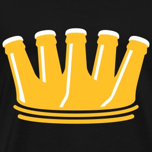 Beer Crown T-Shirts - Men's Premium T-Shirt