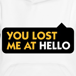 You lost me at Hello! Hoodies - Kids' Premium Hoodie