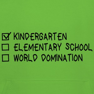 Kindergarten elementary school world domination Pullover & Hoodies - Kinder Premium Hoodie