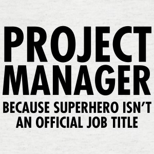 Project Manager - Superhero T-Shirts - Men's V-Neck T-Shirt