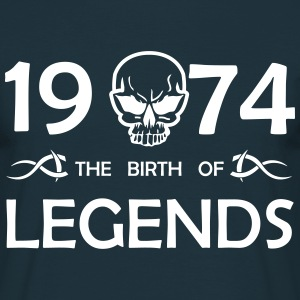 1974 Legends - Männer T-Shirt