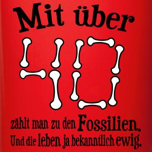 """Geburtstag T-Shirts mit """"Über 40 Jahre"""""""